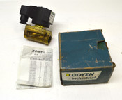 NEW Goyen 12BL2-CEBNA-6097 Solenoid Valve 0-6-psi 110VDC 13W NIB