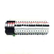 ABB Circuit Breakers (3)S203 (1)S202 (4)S201 w/Surge Protectors