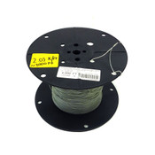 M16878/17-BFE-4BTP 22AWG White MIL-SPEC Tinned Copper Lead Wire (~2000')