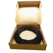 """Advanced Plastic Corp. TS-200 300' Overhead Garage Door Top Seal Black 2"""""""