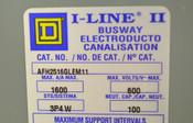 Square D AFH2516GLEM11 Elbow 1600-Amp I-Line II Plug-In AL Busway 600V 3P4W