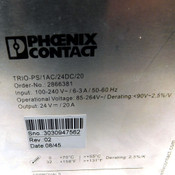 Phoenix Contact TRIO-PS/1AC/24DC/20 Primary Switched Power Supply 1 Phase