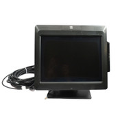 "NCR 5965-1014-9090 15"" LCD High Brightness Display POS Touchscreen Monitor+Stand"