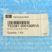 TEL Board Stage Base Type 2 3381-000100-15 3308--000100-14 TS3381-000100R15