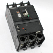 Merlin Gerin CF 250N Circuit Breaker 600V 90A 3-Pole with Auxiliary Switches