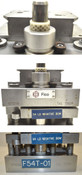 """Fico 54L-TSOP 8-1/4""""x7-1/2""""x9""""H IC Punch Die Press IDEX-Electric Cable Pneumatic"""
