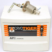 IGC APD T1101-01-000-14 Cryotiger Compressor w/ T2108-01-14 Cold End Cryo Tiger