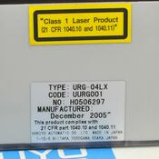 Hokuyo URG-04LX Scanning Laser Rangefinder/Protractor 4m/240* Coverage