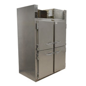Traulsen RHT232NUT Stainless Steel 46 Cu. Ft. Two Section Half Door Refrigerator