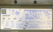 """Square D AFH2516G106ST 1600-Amp 106"""" I-Line II Busway Bus Bar Feeder AL 3P4W"""