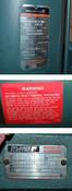 NEW Reliance P14G2446T-WD Motor & Gearmotor Reducer 2Hp 20:1 3Ph Hazard-Location