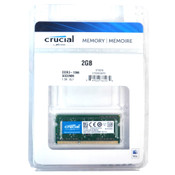 (Lot of 3) NEW Crucial CT2G3S1067M 2GB DDR3-1066 SODIMM PC3-8500 SDRAM (6GB)