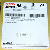 Astec MP6-3X-00 Industrial Power Supply Unit 600 Watts 10 Amps Max 100-240V