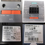 Siemens Sirius 3RT1055-6AF36-3PA0 3-Pole Power Contactor IP20 150A/400V