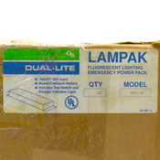 (Lot of 20) Lampak Dual Lite UFO-4 Fluorescent Lighting Emergency Power Pack