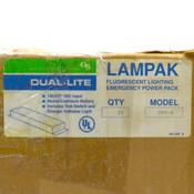 (Lot of 20) Lampak Dual Lite UFO-4 Fluorescent Lighting Emergency Power Pack