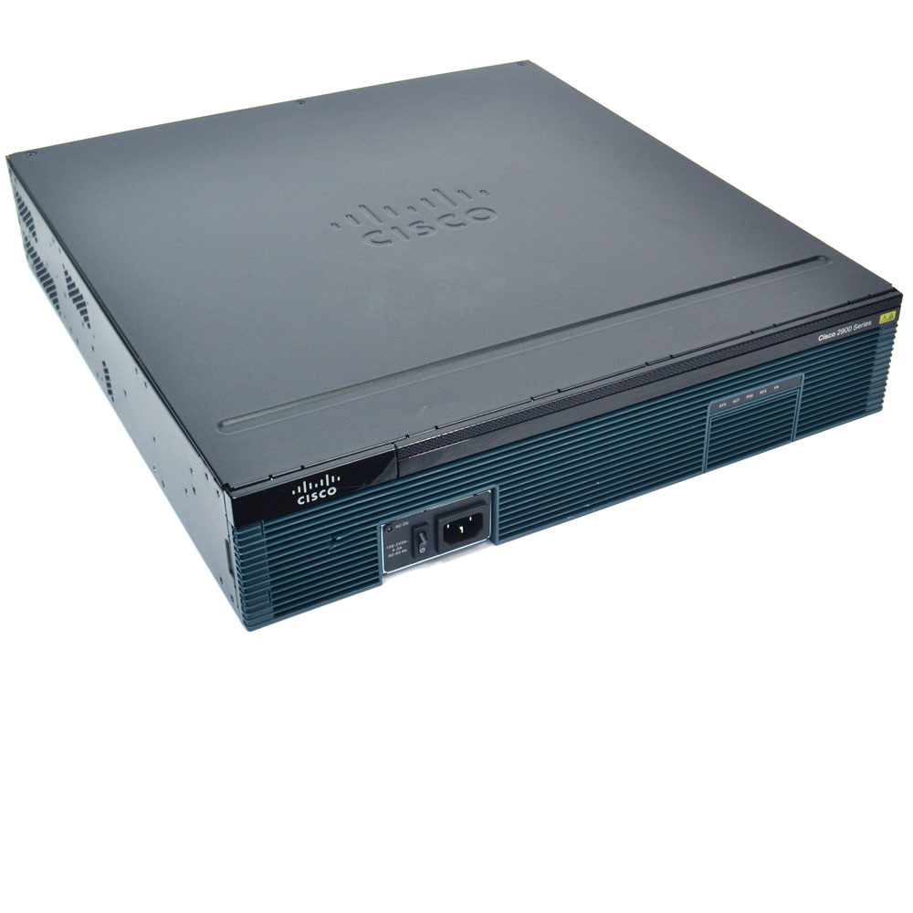 Cisco CISCO2951/K9 Integrated Services Router 512MB 3x GE WAN Port PoE