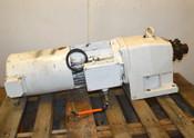 Nord 132S74CUS BRE100 HL F Brake Motor & 52-132 S/4 CUS BRE100 HL IG12 Reducer