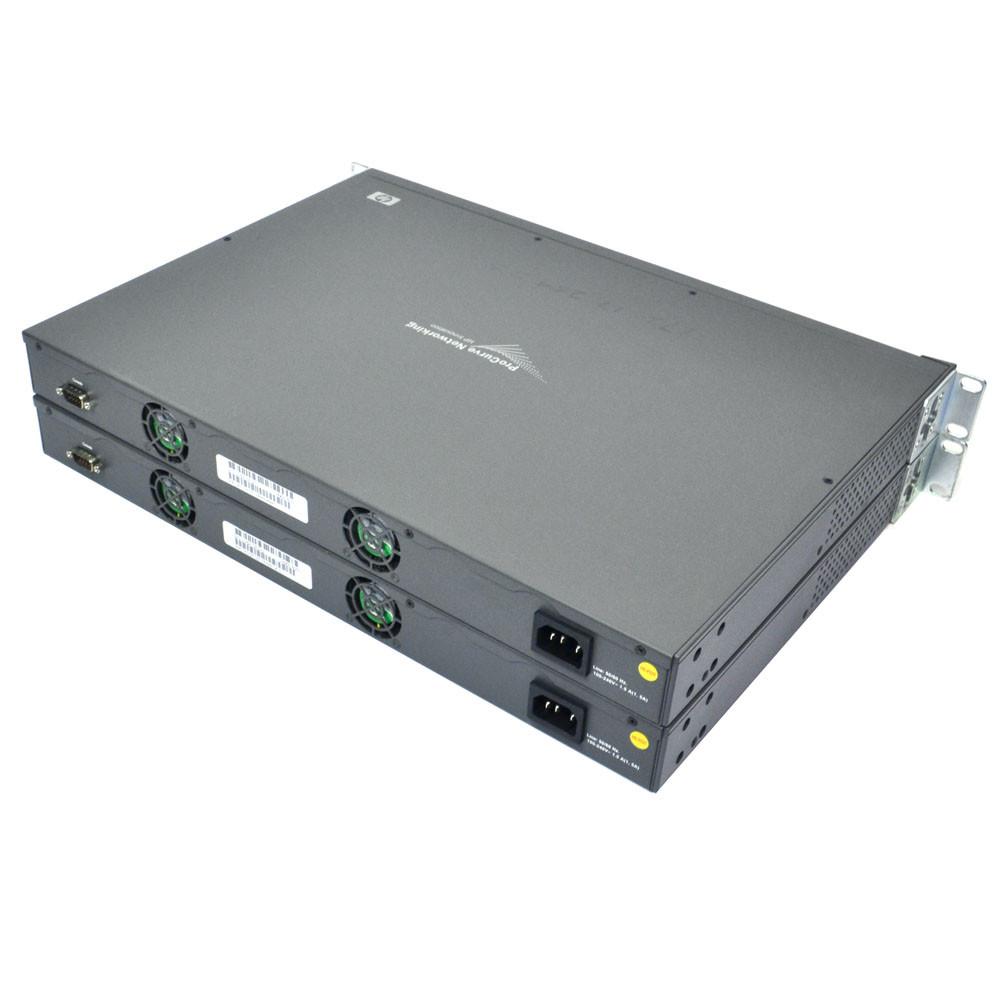 (Lot of 2) HP J4900B Procurve 2626 Ethernet Switch 24x 10/100 2x 10/100/1000