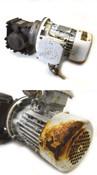 Nord 71 L/4CUS IP66 1/2-Hp 3-Ph Motor & Reducer 1SI50 40:1 Worm-Gear 1720-RPM AC