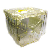"Kakizaki KTB-3002B FOUP 25 Capacity 300mm 12"" Polycarbonate Wafer Carrier"