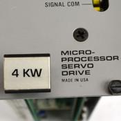 Cleveland Machine Controls MSD 4KW S3004M000008 Micro-Processor Servo Drive
