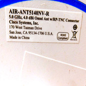 (Lot of 4) Cisco AIR-ANT5140NV-R Omni-Directional 3-Element Wifi Antenna 5GHz