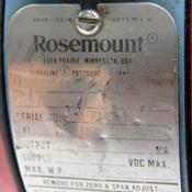 Rosemount Alphaline 1151DP4E12 Differential Pressure Transmitter 45VDC 2000PSI