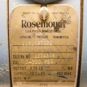 Rosemount Alphaline 1151GP7S22 4-20 mA Pressure Transmitter 300PSI Rating