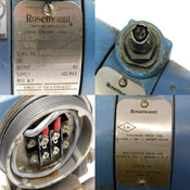 Rosemount 1151DP6E22 Differential Pressure Transmitter 2000 PSI Working Pressure