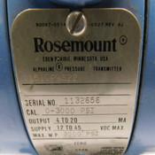 Rosemount 1151GP9S22 Alphaline Gage Pressure Transmitter 3000PSI 12-45VDC