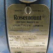 Rosemount 1151AP5S22 Absolute Pressure Transmitter 750 IN H2O Working Pressure