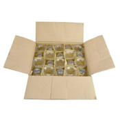 """(60) NEW Clear Thick Glass Lip Votive 2-5/16"""" Tealight Wedding Candle Holders"""