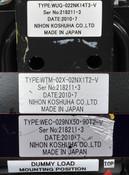 Nihon Koshuha RF Assembly WUG-022NK14T3-V WTM-02X-02NX1T2-V WEC-029NX50