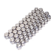 """Ham-Let HTC 316 Stainless 1/4"""" VCR Cap and Plug Fitting Couplings (50 Sets)"""
