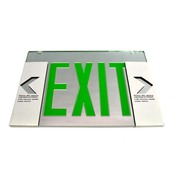 (Lot of 11) Sure-Lite EUS70G Edge-Lit LED Green Exit Sign Replacement Lenses