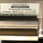 Magstar Quickdraw White Industrial Conveyor Assemblies Left/Right 30-Inch Length