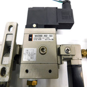 SMC NAV2000-N02-5DZ Soft Start Valve w/NVHS2500-N02-X116 &NAF2000-N01-C Modules