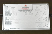L3 SPD TCR2S26007K20.0.8 100-kVA 3-Ph Transformer HV:480VDelta LV:208Y/120V AC