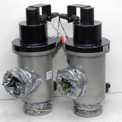 Lot: 2 MKS Instruments 100015033 Pneumatic Vacuum Isolation Valves Contaminated
