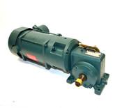 Reliance P14G2448S-WF Motor & 10253288-XF / 79165-15-NX Reducer 3Ph 1-Hp 18:1