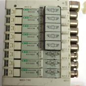 CKD Pneumatic DIN Mount Block (1) N4E0-T7G1 CC-Link + (5) N4E030 + (3) N3E0660