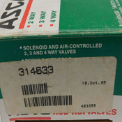 NEW Asco Red Hat Valves 314633 Solenoid Valve Rebuild Kit For 8210 Series Valves