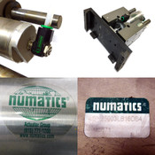 "Numatics SH25003LB16DS4 Dual Shaft 2.5"" Bore Linear Slide Assembly 3"" Stroke"