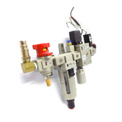 SMC NAV3000-N03-5G Assembly w/ NAF3000-NO3D / NVHS3500 & IS 1000 Pressure Switch