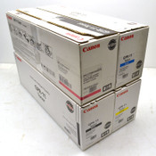 NEW Lot of 4 Canon GPR-11 Black, Yellow, Cyan, Magenta Toner Cartridges