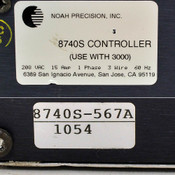 Noah Precision 8740S Slave Chiller Controller 8740S-567A for use with 3000 AS-IS