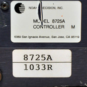 Noah Precision 8725A Solid State Chiller Controller M AS-IS Dented