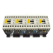(4) Eaton DIL M7-01 XTCE007B01 600V 3PH 5HP 35A 24VDC Coil Magnetic Contactor