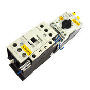 Eaton PKZM0-16 XTPR016BC1 Motor Controller w/ DIL M17-01 XTCE018C10 Contactor